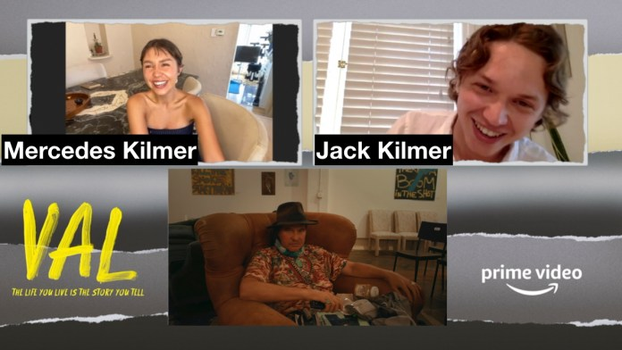 Mercedes And Jack Kilmer Reflect On Loving Father, 'Val' Experience, and John Frankenheimer