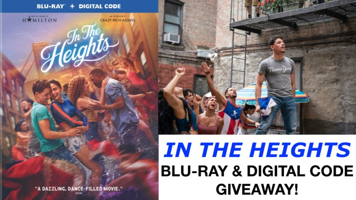 'In The Heights' Blu-ray And Digital Code Giveaway From Deepest Dream!