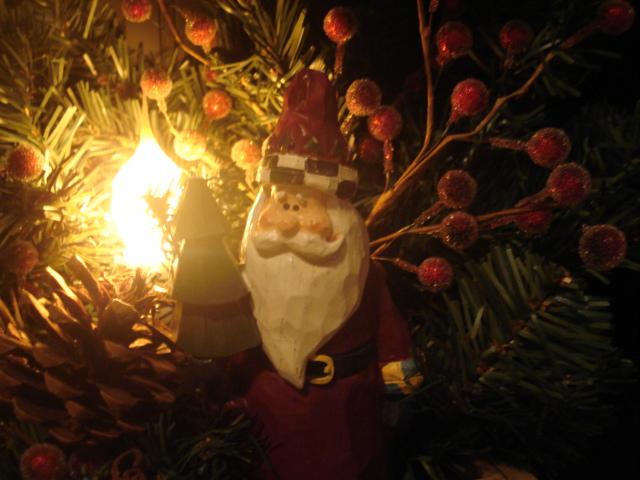 close up of Santa