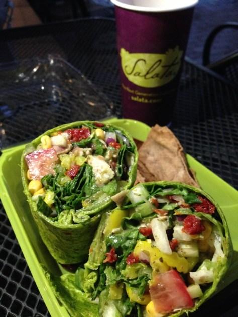 salata-chicken-salad-wrap