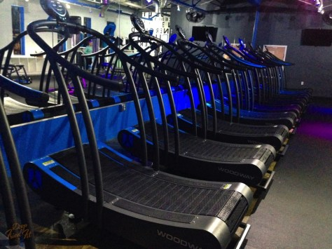 This is a special self-start treadmill that is said to burn 30% more calories than normal treadmills.