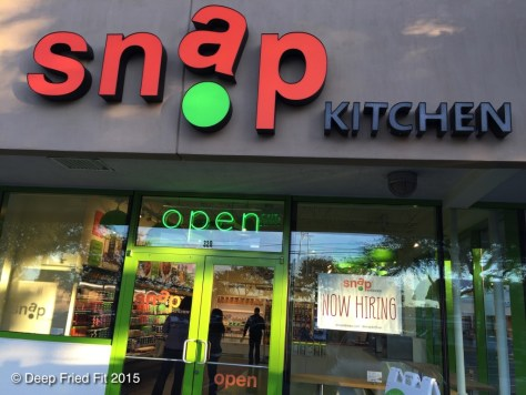 Snap Kitchen at Preston and Royal. My first time ever!