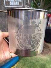 Souvenir cup from Wild Bills. Unlimited refills.