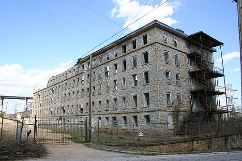 Old Cotton Mill, Tallassee, Alabama