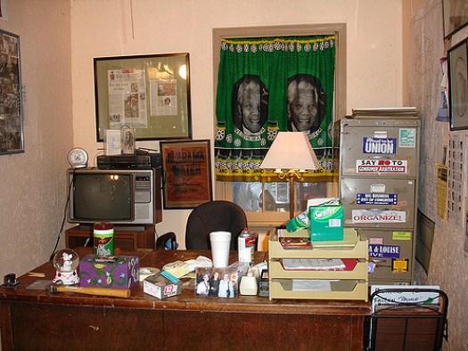Office at Okra Festival, Burkville AL