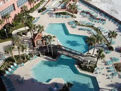 Pool at Perdido Beach Resort, Orange Beach AL
