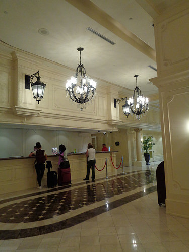 Lobby, Astor Crowne Plaza, New Orleans LA