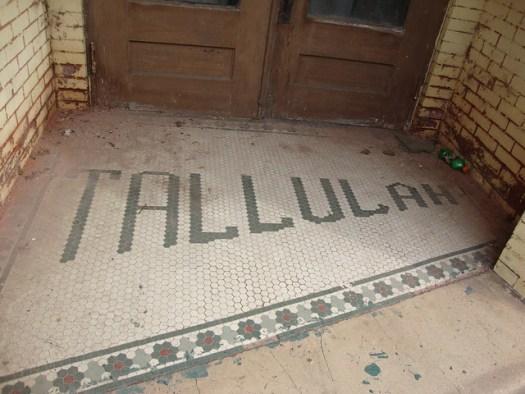 Tallulah Hotel Tilework, Cordova AL