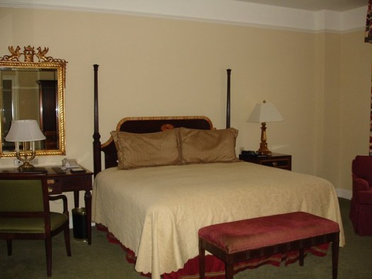 The Hermitage Hotel Room, Nashville TN