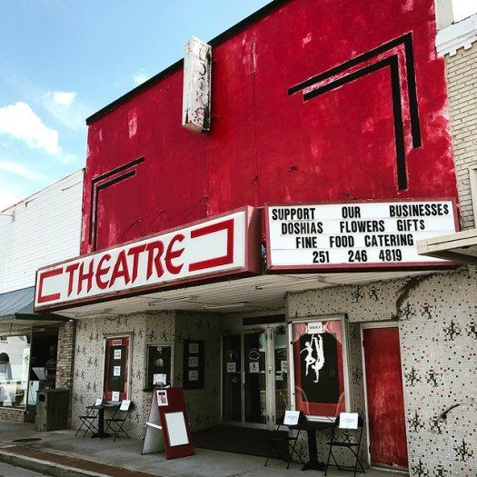 Theater Marquee, Jackson AL