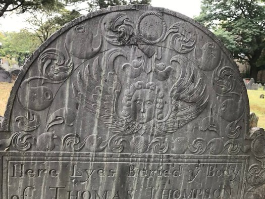 Old Burial Ground, Cambridge MA