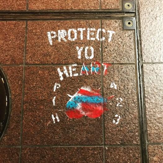 Protect Yo Heart, downtown Atlanta