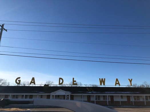Gardenway Motel, Route 66