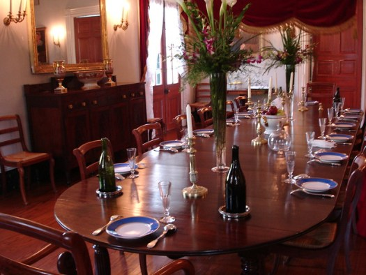 Dining Room, Oak Alley Plantation, Vacherie LA