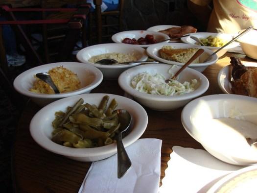 Dinner at Dillard House, Dillard GA
