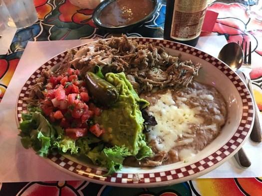 Carnitas, Red Iguana, Salt Lake City UT