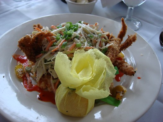 Fried Soft Shell Crab, The Veranda, Birmingham AL