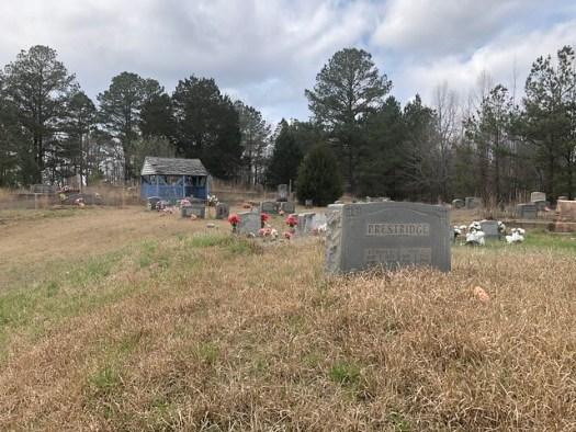 Blue Graveshelter, Bethel Church Cemetery, Nauvoo AL