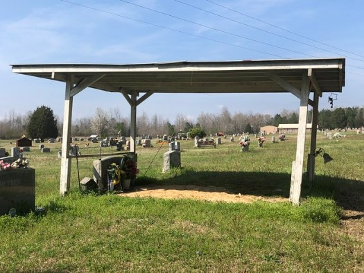 Graveshelter 4, Odom Gray Cemetery, Parrish AL