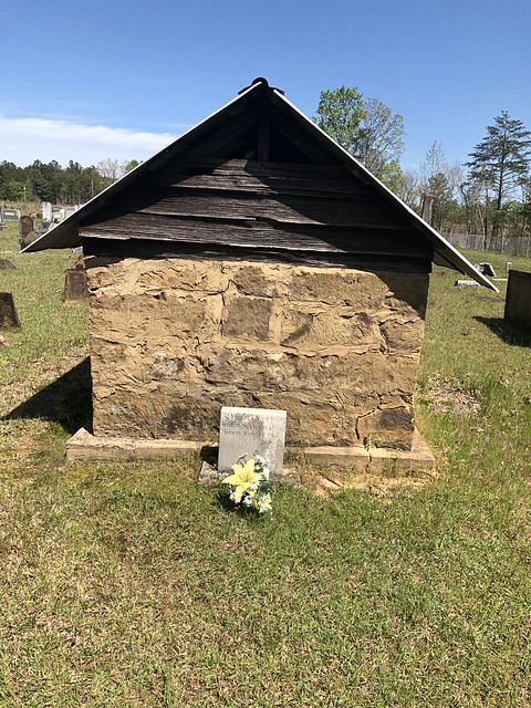 Graveshelter, Liberty Hill Primitive Baptist Church Cemetery, Berry AL