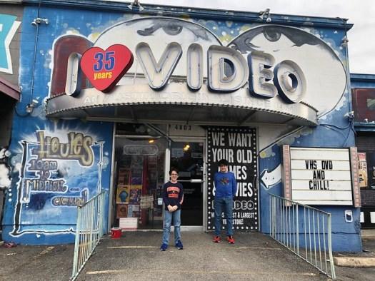 I LUV Video, Austin TX