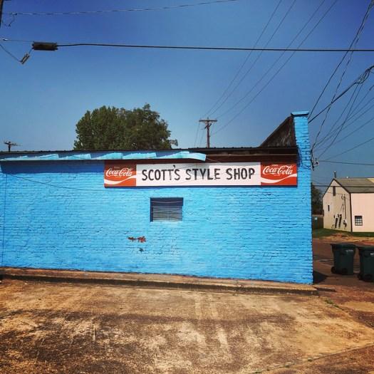 Scott's Style Shop, Yazoo City MS