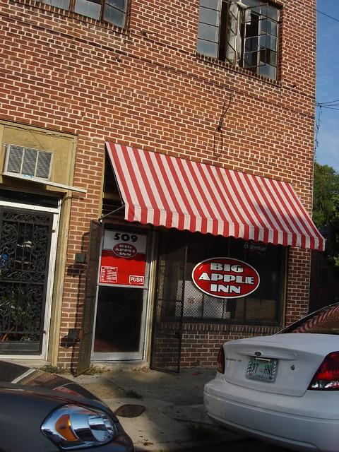 The Big Apple Inn, Farish Street, Jackson MS
