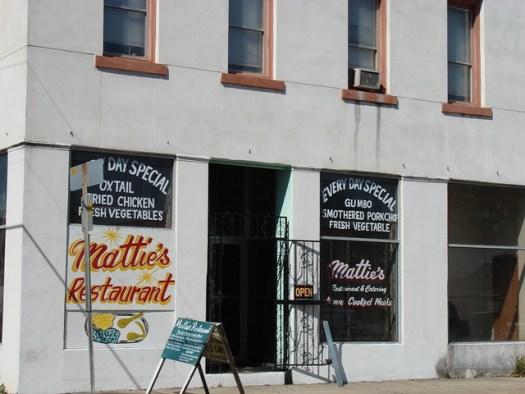 Mattie's Restaurant, Mobile AL
