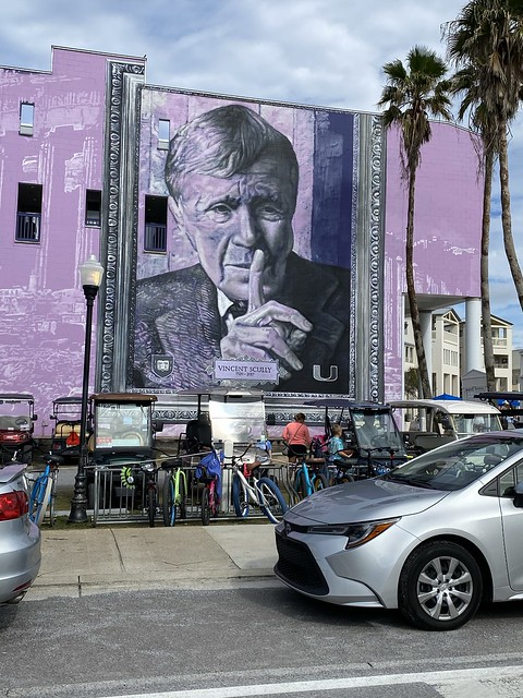 Vincent Scully mural, Seaside FL