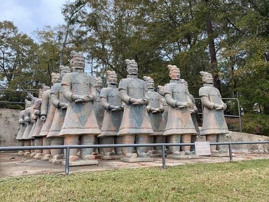 Terracotta Warriors, Troy University, Troy AL