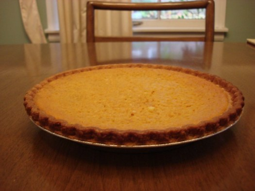 Buttermilk Pumpkin Pie