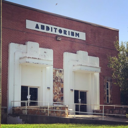 Auditorium at Union Hill School, Union Hill AL
