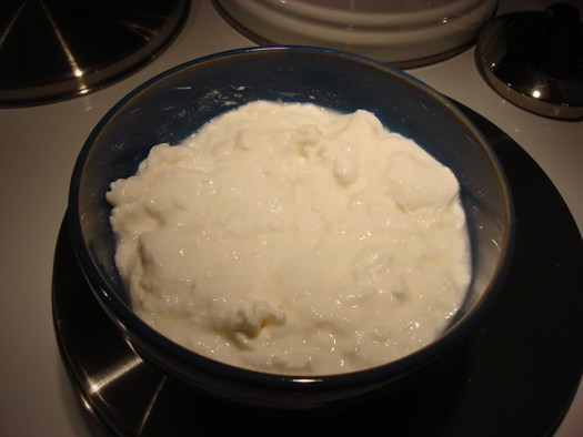 Making Creole Cream Cheese