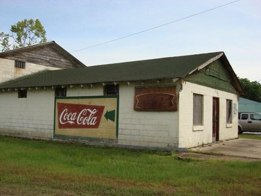 Coca-Cola Mural, Gainesville Alabama