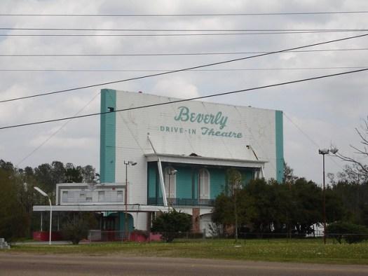 Beverly Drive-In Theatre, Hattiesburg MS