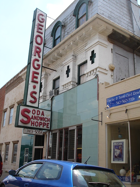 George's Soda Sandwich Shoppe, Harrisonburg VA