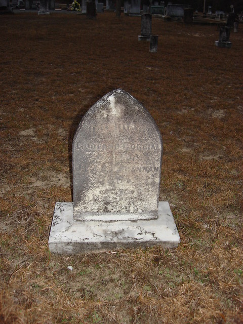 Godford's Cordial Mistake Monument, Old Center Methodist Church, Newville AL