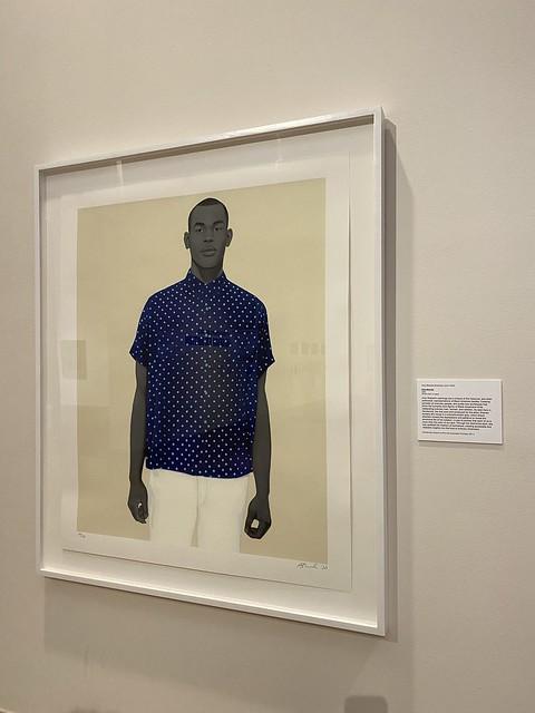 Amy Sherald, Handsome, Montgomery Museum of Fine Arts, Montgomery AL