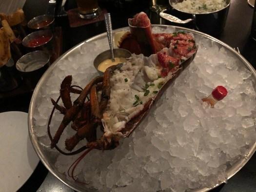 Half Lobster, Michael Mina's Bourbon Steak at the JW Marriott, Nashville TN