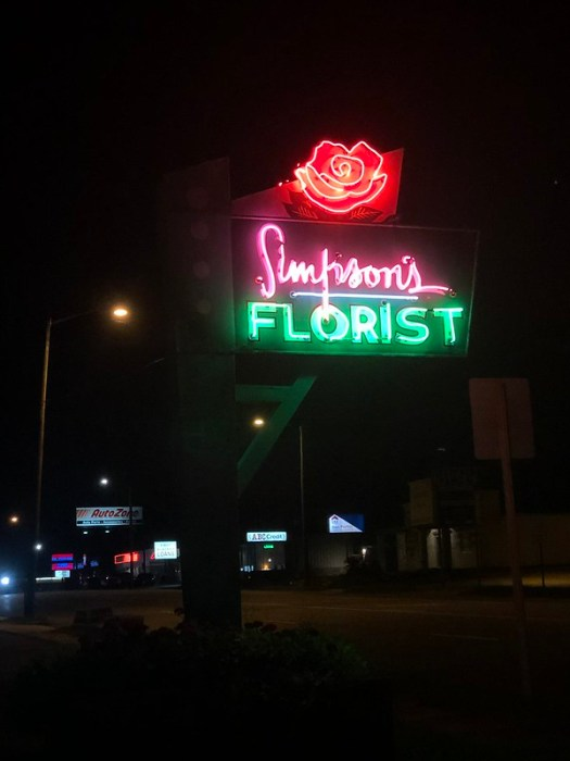 Simpson's Florist, Decatur AL