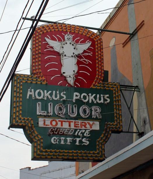 Hokus Pokus Liquor, Alexandria LA