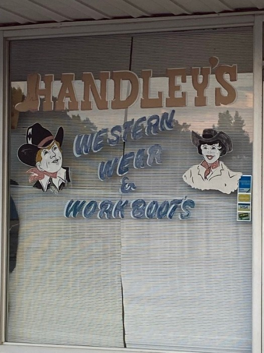 Handley's Western Wear and Work Boots, Jasper AL