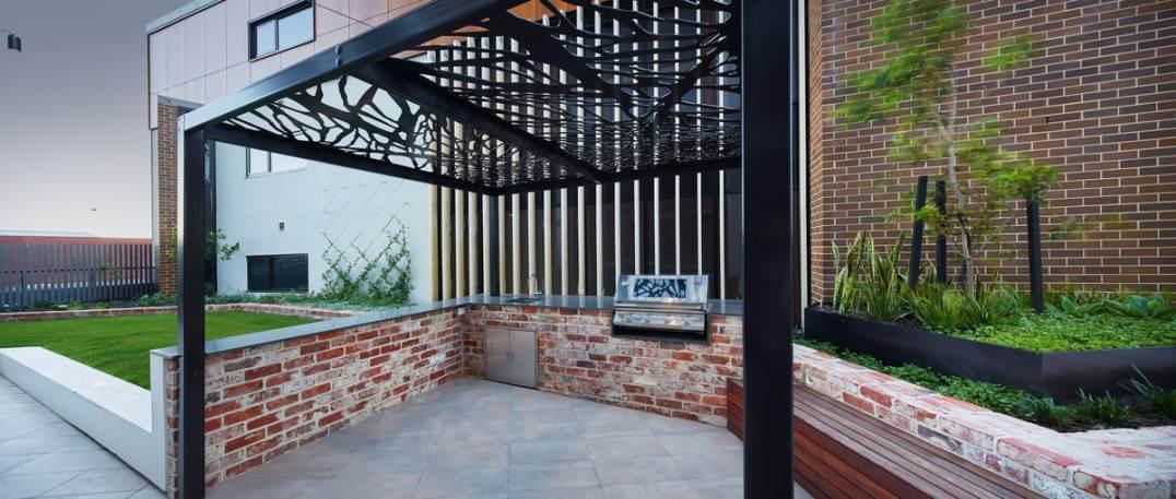 LIV Apartments BBQ Area