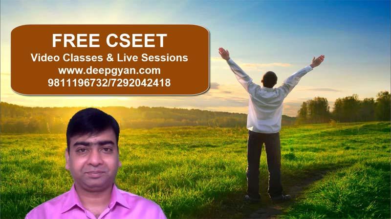 FREE CSEET Video Lectures