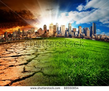 stock-photo-a-city-showing-the-effect-of-climate-change-88550854