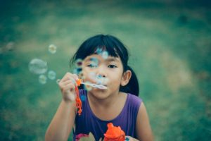 Kids of all ages love bubbles. Make sure to include them in your summer activity for kids