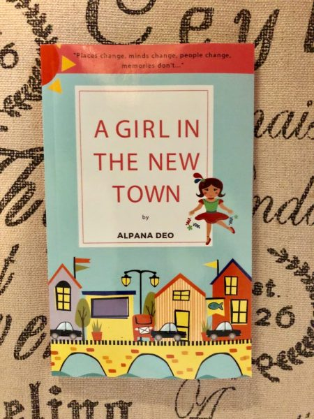 Cover of A girl in the new town by Alpana Deo