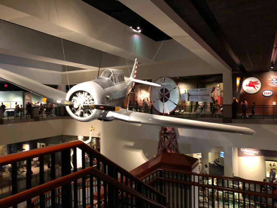 Bullock state museum during relaxed 2-day itinerary in Austin with kids