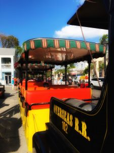 Conch Train and Trolley experience in Key West, Florida