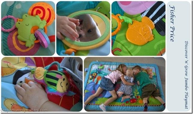 Fisher Price Jumbo Playmat